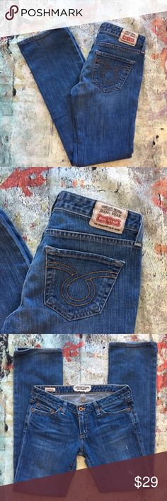 Big Star Sweet Straight Leg Big Star Sweet Straight Leg 27 x 30 Big Star Jeans Straight Leg