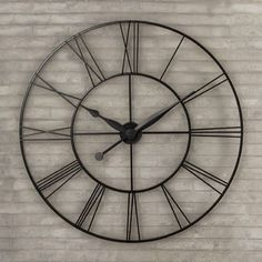 Shop Wayfair for Wall Clocks to match every style and budget. Enjoy Free Shipping on most stuff, even big stuff.