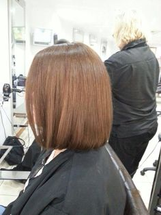 Get rid of those split ends with a glossy bob