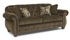 Flexsteel Furniture: Sofas: VictoriaFabric Sofa (7394-31) New on our floor.  You have to see this beautiful piece for yourself.