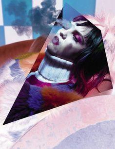 "Molly Blair stars in ""Kaleidoscopic"" by Sølve Sundsbø for Vogue Italia September 2015 [editorial]"