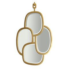 'Tania' Mirror by Hubert Le Gall