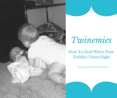 Does it feel like your toddler twins fight all the time? (What do twins fight about anyway?) One year old twins fighting might not seem like a big deal, but you don't want one twin bullying the other. Here are 3 easy ways to handle toddler twin fights. Twin Toddlers, Toddler Twins, Twin Babies, Baby Twins, Breastfeeding Twins, Nursery Twins, Raising Twins, Carters Baby Boys, Co Parenting
