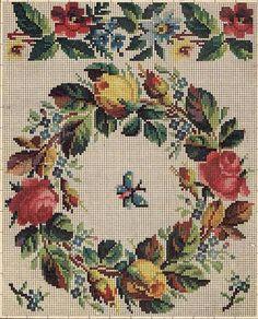 Gallery.ru / Фото #46 - Схемы старинных вышивок 19 века (Fleure 2) - SARA-t