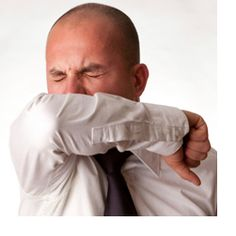 Cover your mouth when you cough, and sneeze into your elbow, even if you feel fine. People without symptoms may carry the cold virus.