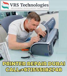 Looking for Printer Repair Services in Dubai? VRS Technologies provides printer repair services in Dubai, our printer repair technicians will fix any kind of printer repair issues. Printer Logo, Companies In Dubai, Computer Repair, Types Of Printer, Desktop Computers, Fix You, Solution, Logo Design, Technology