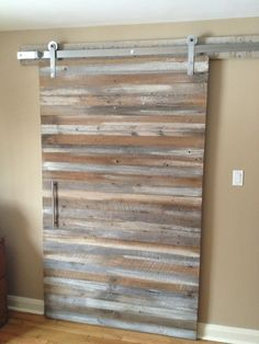 Modern barn doors are stunning interior access with its sliding concept. It's a large door inspired with the barn door style. Here are awesome door styles that might bring new inspiration for you. Barn Door Hardware Canada, Sliding Barn Door Hardware, Window Hardware, Door Hinges, Interior Sliding Barn Doors, Sliding Closet Doors, Sliding Wall, Sliding Cupboard, Cupboard Doors