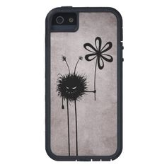 Evil Flower Bug Vintage Bumper #iPhone 5 Case $52.95