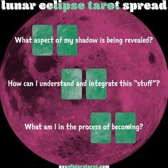 Lunar Eclipse Tarot Spread from Ace of Stars Tarot aceofstarstarot.com