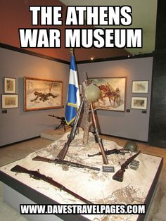 The War Museum in Athens, Greece is a very interesting place to visit, and serves as a poignant reminder to the bravery and tragedy that war creates.
