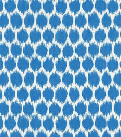 Home Decor Print Fabric-Waverly Seeing Spots CapriHome Decor Print Fabric-Waverly Seeing Spots Capri, Sale $24.99 - maybe for pelmets?
