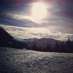 Top of Rochebrune lift Megeve Visit www.elegant-ski.com