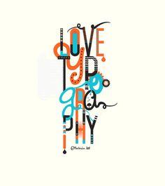 visualgraphic: Love Typography http://designaemporter.tumblr.com/post/22642512212/visualgraphic-love-typography