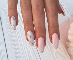 Pink nails w/sparkle manicura, unghie in acrilico, chiodi unghie natalizie Acrylic Nail Designs, Acrylic Nails, Hair And Nails, My Nails, Nailed It, Marble Nails, Nagel Gel, Stylish Nails, Nude Nails