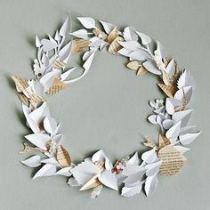 sadiie - paper wreath