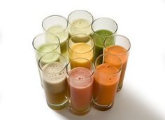 4 Secrets to Delicious Juices & Smoothies -  I dont agree with the comment about Soy, but i would drink it with my homemade raw milk yogurt in its place.