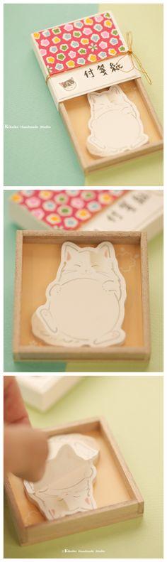 Sticky notes,bookmark Matchbox card,Japanese Miniatures Matchbox,Gift box,cheer up box,Valentine's Gift,Gift for her/him,Girlfriend gift, birthday gift, holiday gift and matchbox art ideas#cat #kitten #kitty  #japanstyle #stationery #付箋 #文房具  #japanesehandamde #unique #messagecard #handmade #custom #GreetingCards #paper #Longdistancegift #thoughtfulgift #valentineday  #kikuikestudio  #matchboxmessage #千代紙