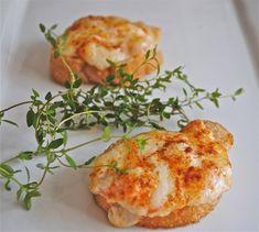Parmesan Shrimp Toast
