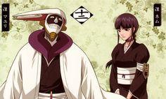 Squad 12: Mayuri Kurotsuchi and Nemu Kurotsuchi