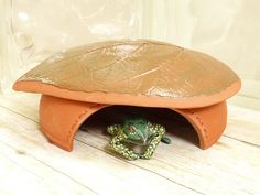 Your place to buy and sell all things handmade Toad Abode Frog House For Green Gardening by MyMothersGarden<br> Frog House, Toad House, Garden Bugs, Green Garden, Garden Art, Garden Ideas, Shed Playhouse, Unique Garden, Hedgehog House