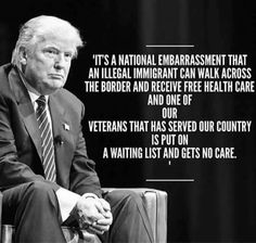 Thanks to Obama, who turned his back on our Veterans for 8 years.  This is all part of the huge fix President Trump was left with, and will make the changes.  After all he's only been in office 90 days, libtards are blaming him for shit that's wasn't taken care of for the last 8 years under Obama's watch.