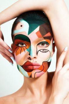 Eye Makeup Art, Face Makeup, Airbrush Makeup, Makeup Salon, Makeup Studio, Makeup Geek, Photographie Portrait Inspiration, Creative Makeup Looks, Make Up Art