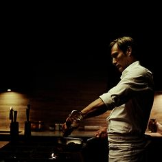 Best show on network TV, hands down, and shot gorgeously.  #Hannibal (True Detective beats it, but is HBO.)