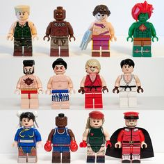 Lego Street Fighter!!! So sick!!