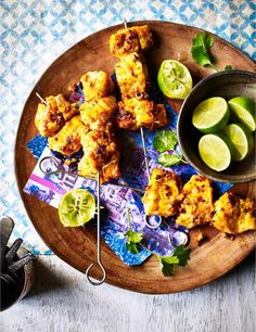 This low calorie fish tikka recipe is easy to make and perfect for a healthy midweek meal. Serve with fresh salad and some lime wedges to garnish