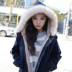 38.00$  Watch now - https://alitems.com/g/1e8d114494b01f4c715516525dc3e8/?i=5&ulp=https%3A%2F%2Fwww.aliexpress.com%2Fitem%2FWinter-Coats-Women-2016-Plus-Size-Thick-Hooded-Fur-Collar-Sherpa-Women-Parka-Winter-Loose-Warm%2F32741095898.html - Winter Coats Women 2016 Plus Size Thick Hooded Fur Collar Sherpa Women Parka Winter Loose Warm Casaco Fashion Women Coat S23805 38.00$