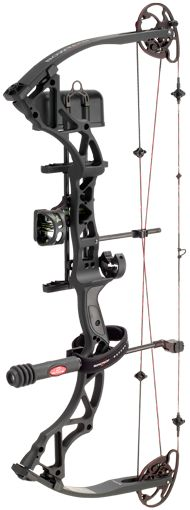 New Martin 5 Arrow Bow Mounted Quiver Archery Hunting Black