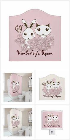 BFF - Cute Animal Design Kids Bathroom Accessories