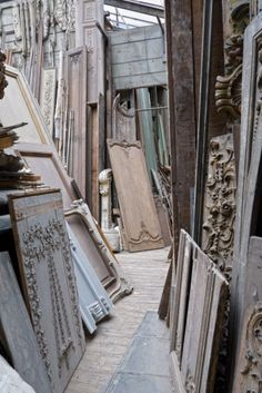 I love shopping through places like this -- picking through the pieces to find treasure