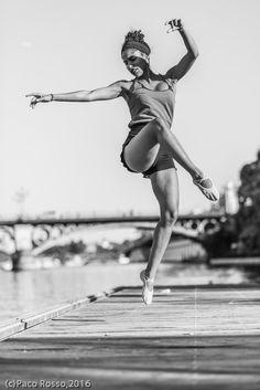 Naomi in the river