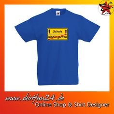 Schulanfang Schulkind Kindergarten Einschulung Schulanfänger Kinder T-Shirt