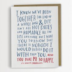 There's a really cool illustrator out there and her name is Emily McDowell. 'Chronicling the human condition since 1976′, McDowell is now creating the perfect Valentine's Day cards to hand to your partner or crush, to let them know just how much you love them, in all the awkward ways. Some of the best declarations […]
