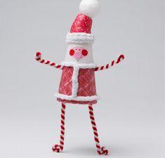 Whimsical Santa Ornament | AllFreeKidsCrafts.com