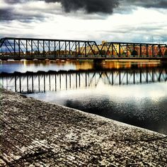 We love the scenic shots of Grand Rapids' bridges!