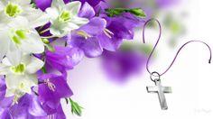Christian Easter Desktop Wallpaper | Easter Persona Flowers Religious Widescreen Firefox Bible Christian ...