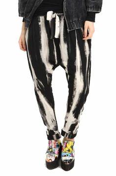 6f22c8cc19a60 ELLAZHU Baggy Harem Hippie Pad Dyeing Yoga Aladdin Boho Gypsy Capri Short Pant  Trousers Onesize: Amazon.co.uk: Clothing