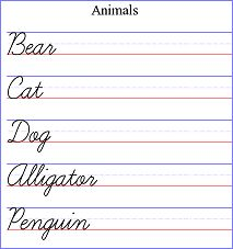 Worksheets Custom Cursive Worksheets handwriting practice allows you to create customizable worksheet generator free online resource with several font options not just cursive