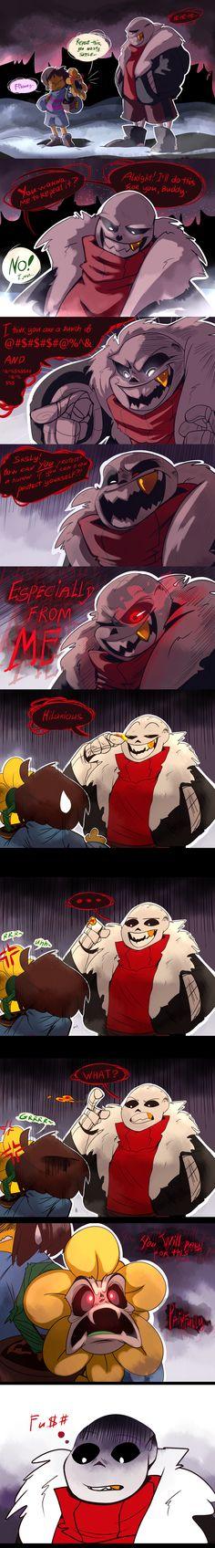 Underfell comic by KetrinPetterson94