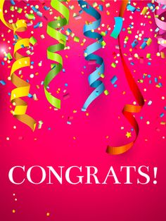 Send Free Happy Balloons Congratulations Card to Loved Ones on Birthday & Greeting Cards by Davia. It's free, and you also can use your own customized birthday calendar and birthday reminders. Birthday Msgs, Happy Birthday Quotes, Happy Birthday Images, Birthday Emoji, Card Birthday, Happy Quotes, Positive Quotes, Congratulations Quotes Achievement, Congratulations Greetings