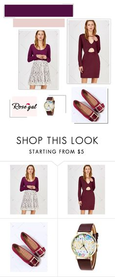 """""""Rosegal *28"""" by albinnaflower ❤ liked on Polyvore"""