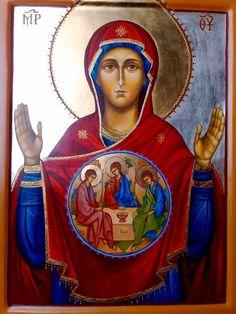 Theotokos with the Holy Trinity