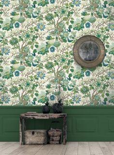 GP & J Baker Wallpaper - Magnolia Gp&j Baker, Chinese Wall, William Turner, Magnolia Flower, Flowering Trees, Chrysanthemum, Soft Furnishings, Hydrangea, Sweet Home