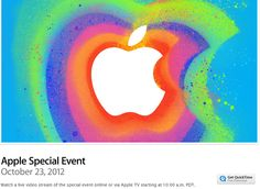 In an unprecedented move Apple will live stream today's event from California. Apple is known for the secrecy and limited access  to their event has taken a decision which has surprised every one on blogosphere.