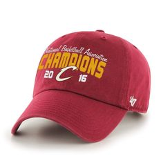 NBA Cleveland Cavaliers 2016 Champions '47 Clean Up Adjustable Hat One Size C...