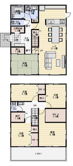 Interior Design For Bedrooms Interior Decorating, Interior Design, Japanese House, House Floor Plans, Kitchen Decor, Layout, House Design, Flooring, How To Plan