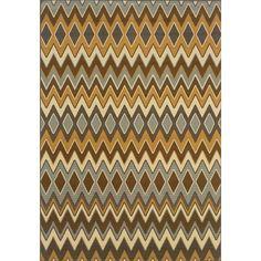 Oriental Weavers Sphinx Bali Grey/Gold Geometric Rug | AllModern